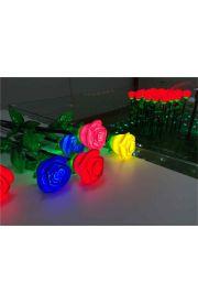 玫瑰花装饰灯