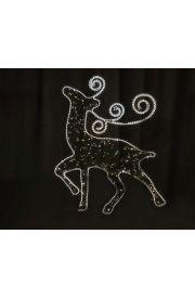 平面鹿造型灯
